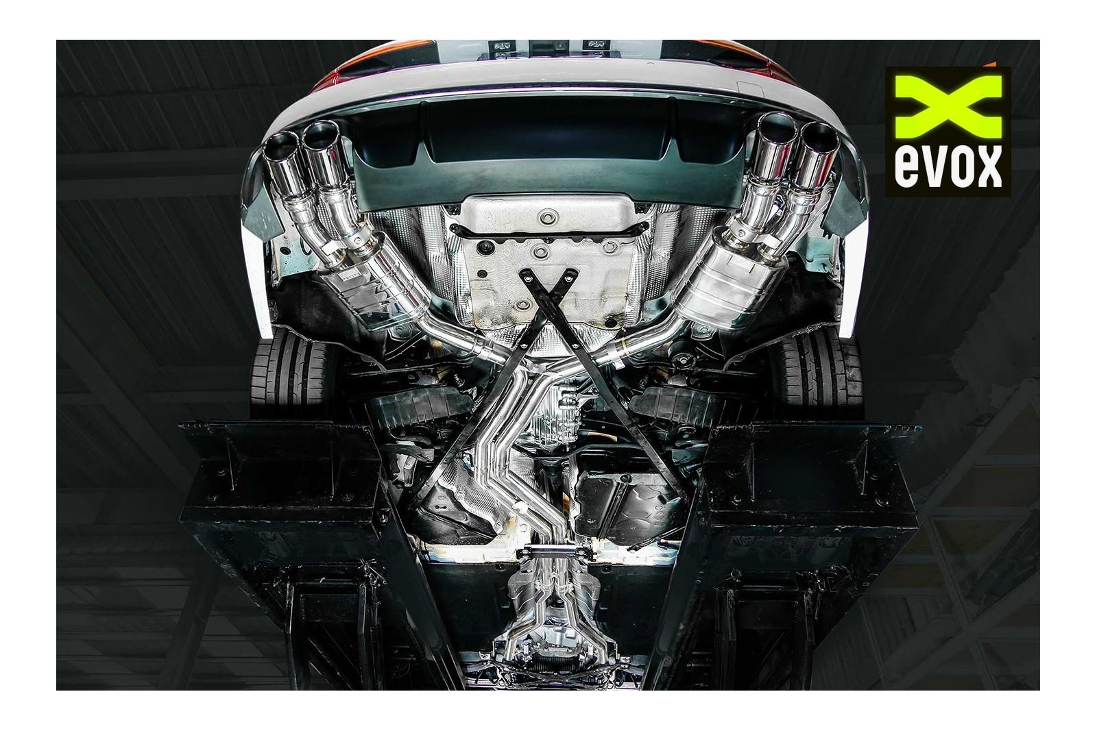 IPE Exhaust System Audi S5 B9 - EVOX Performance