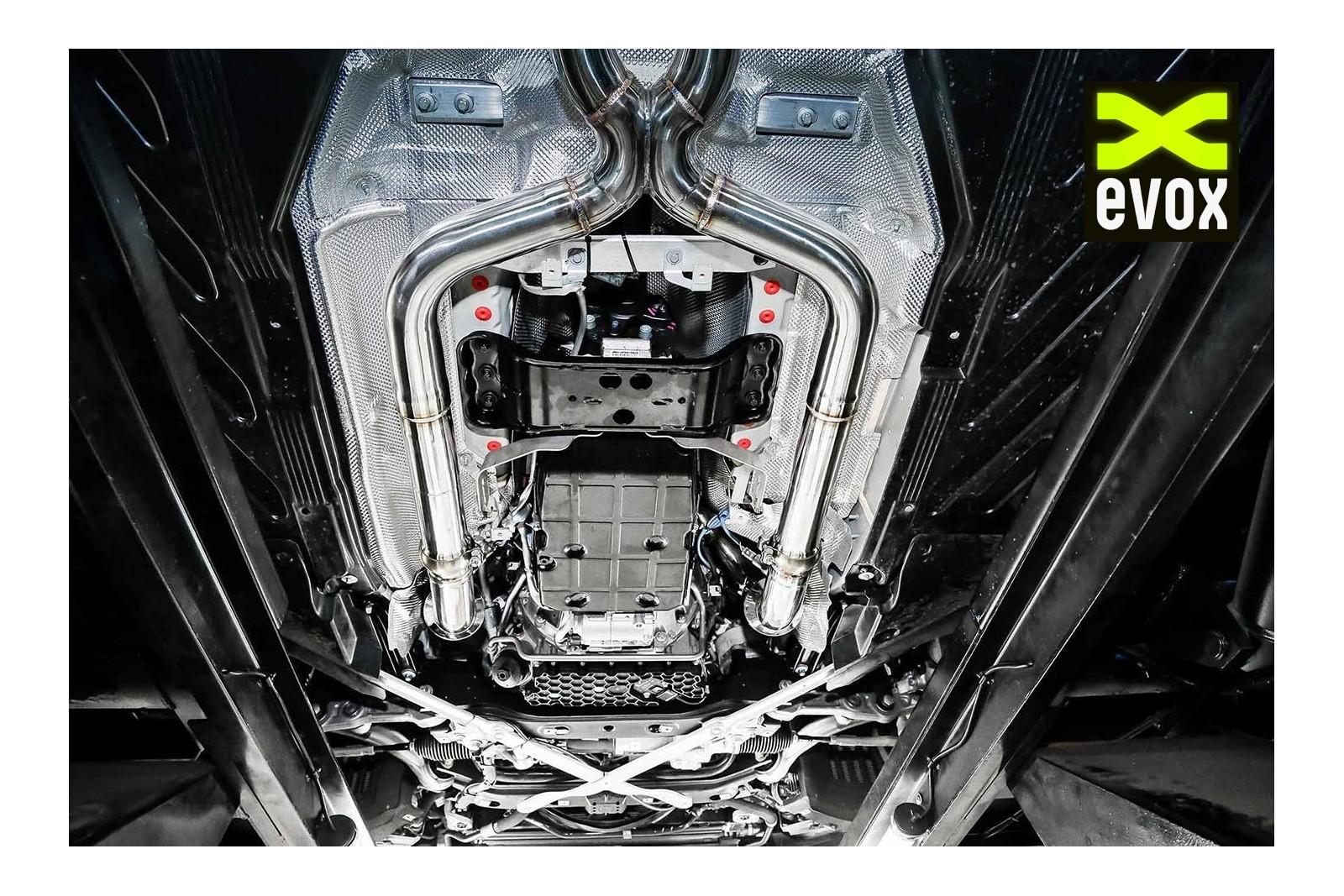 IPE Exhaust System Mercedes C63 AMG (W205) - EVOX Performance