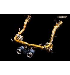IPE Titanium Exhaust System F1 Ferrari 458 Italia