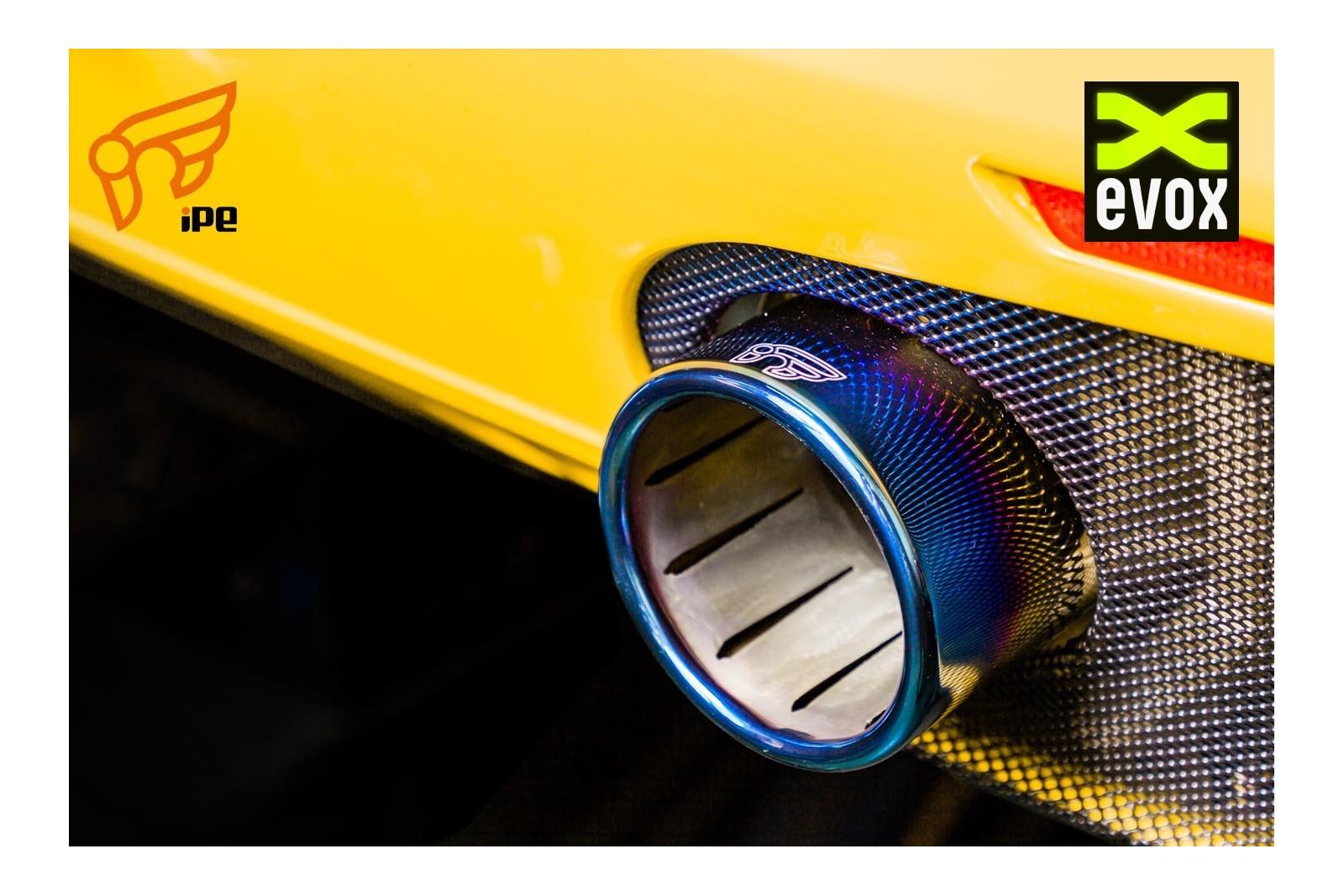 Ipe Titanium Exhaust System F1 Ferrari 488 Gtb Evox Performance