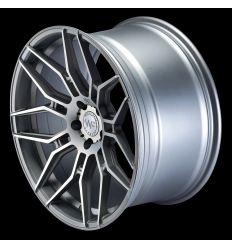 """WHEELFORCE Wheels CF.2-FF """"Frozen Crystal Silver"""" Ø20''"""