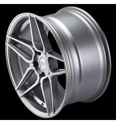 """WHEELFORCE Wheels CF.1-RS """"Frozen Silver"""" Ø19''"""