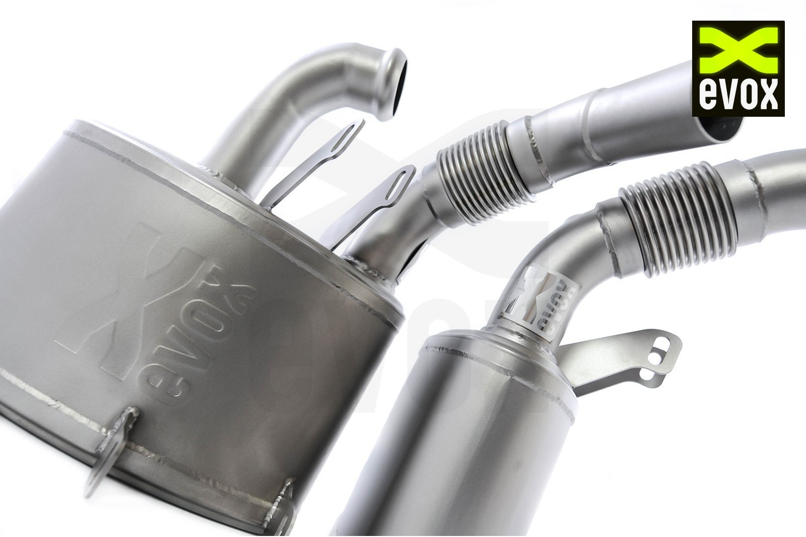 EVOX SuperSport Mufflers Porsche 996