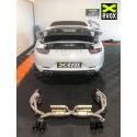EVOX Sorties Silencieux Chrome Porsche 991 MKI